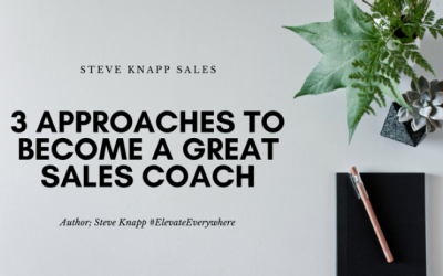 Become A Great Sales Coach