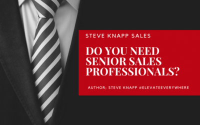Do you need Senior Sales Professionals