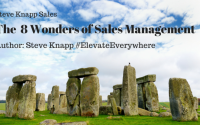 The 8 Wonders of Sales Management