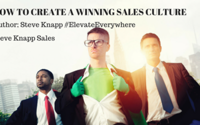 How to Create a Winning Sales Culture