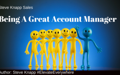 Being A Great Account Manager!