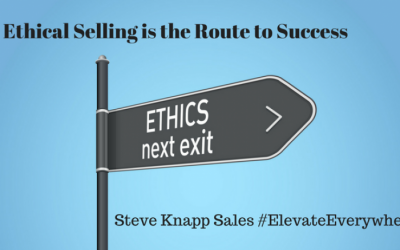 Ethical Selling is the Route Success