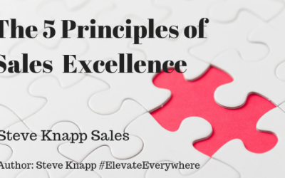 5 Principles of Sales Excellence