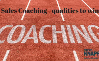 Sales Coach – The Qualities to be a Great