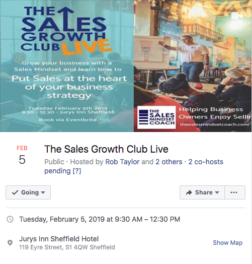 the sales growth club live