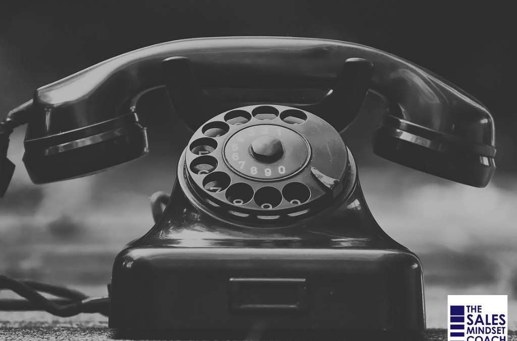pick up the phone to cold call prospects