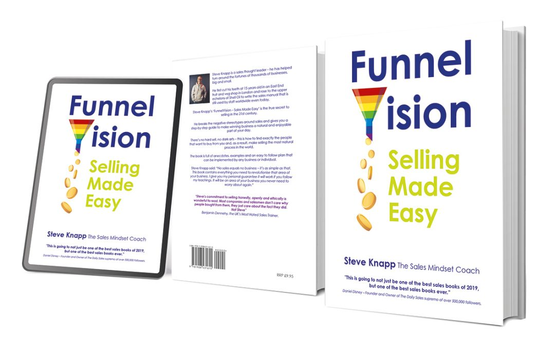 Grab 'the greatest sales training book ever' for only £2.99 on Amazon TODAY!