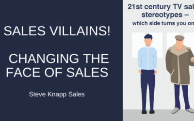 Sales Villains! – Changing the Face of Sales