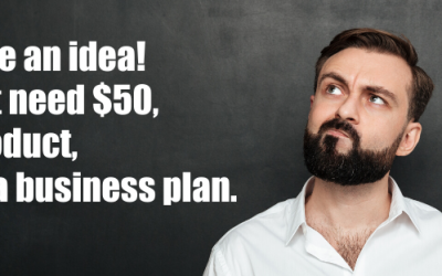 A product and a business plan.