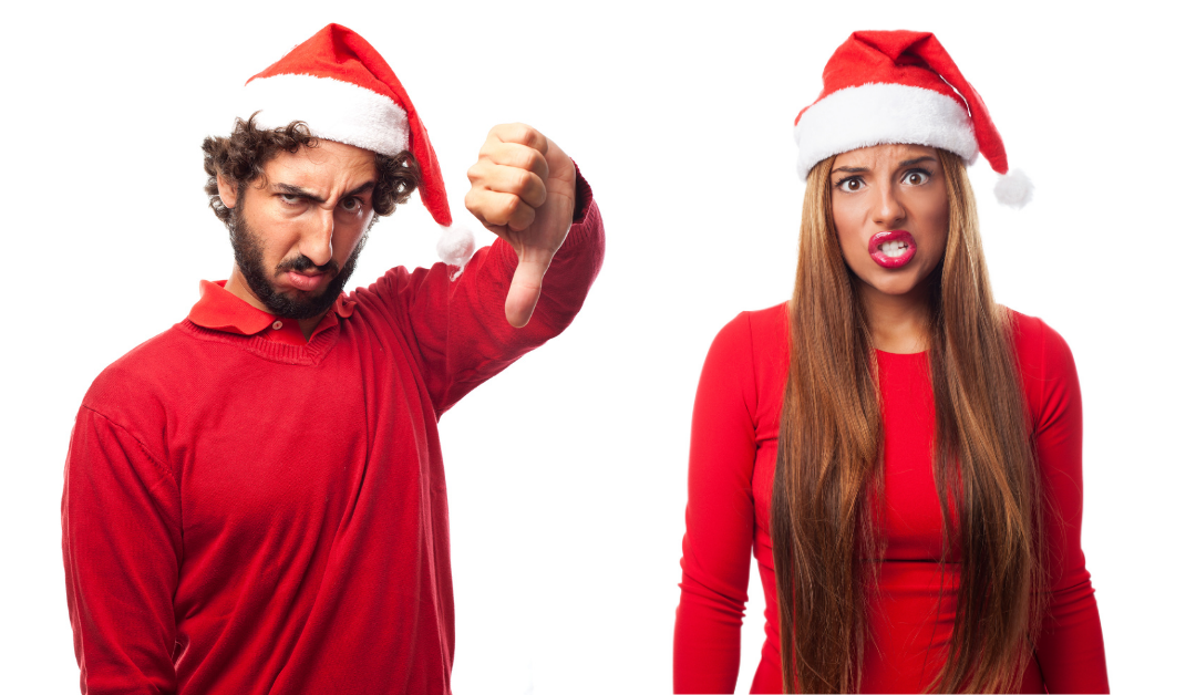 Don't screw up Christmas, you're accountable.