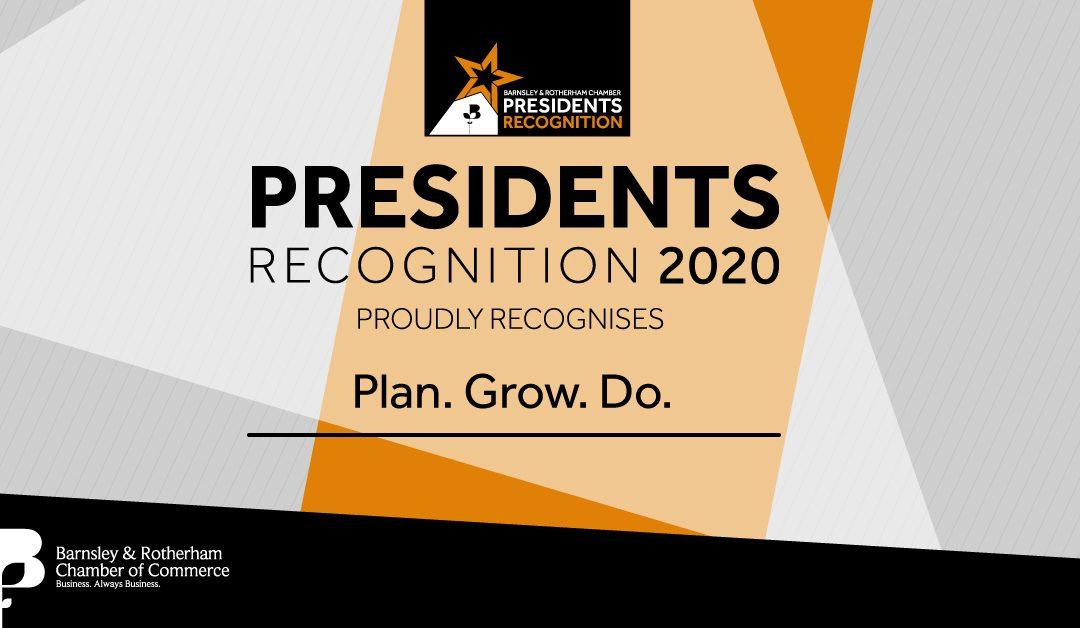 Presidents Award For Plan.Grow.Do.